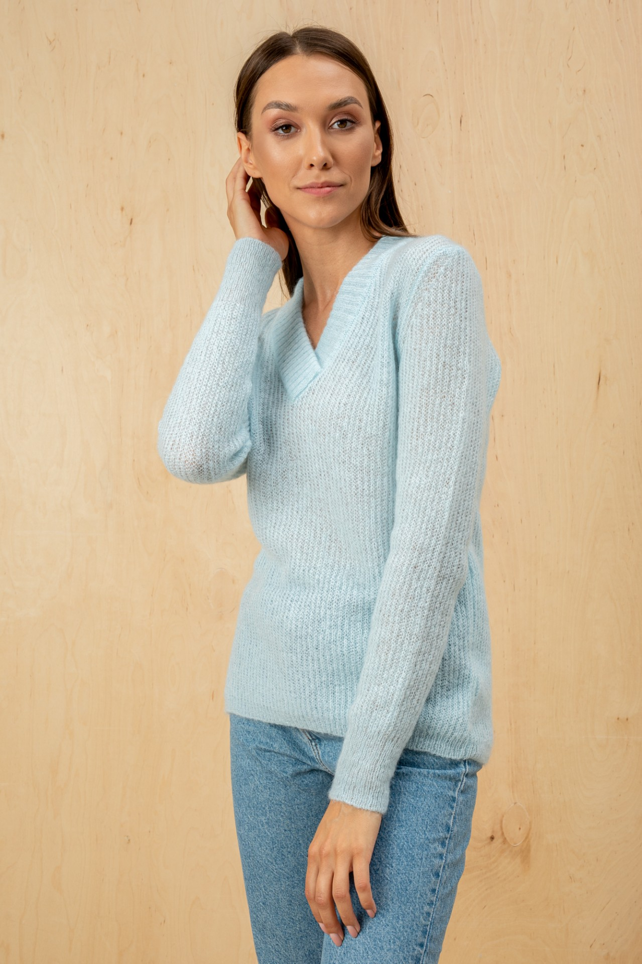 Blossom Sweater Light Blue