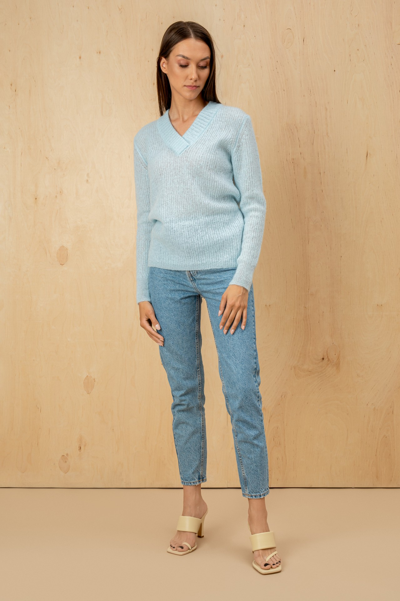 Blossom Sweater Light Blue