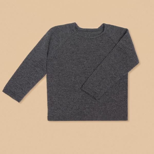 Kids Wool Sweater Graphite