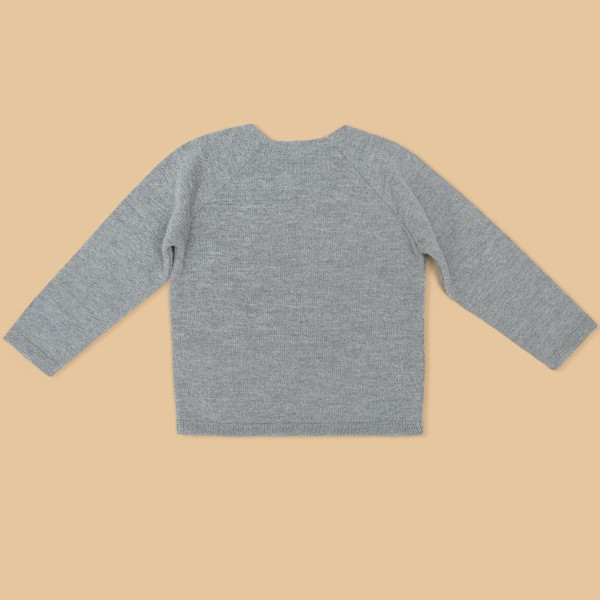 Kids Wool Sweater Grey