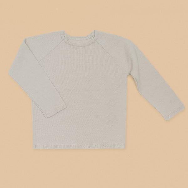 Kids Wool Sweater White