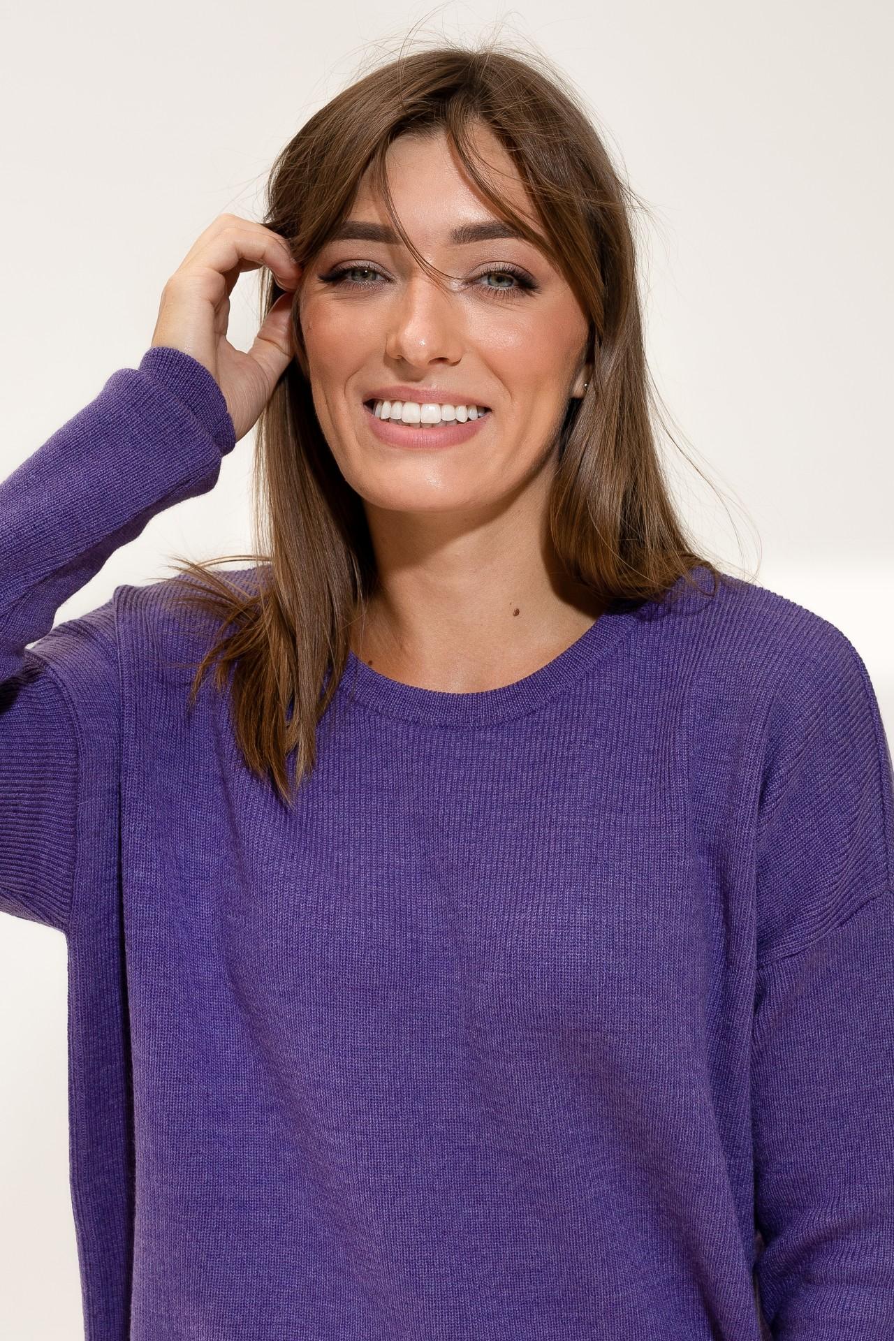 Merino Suit Purple