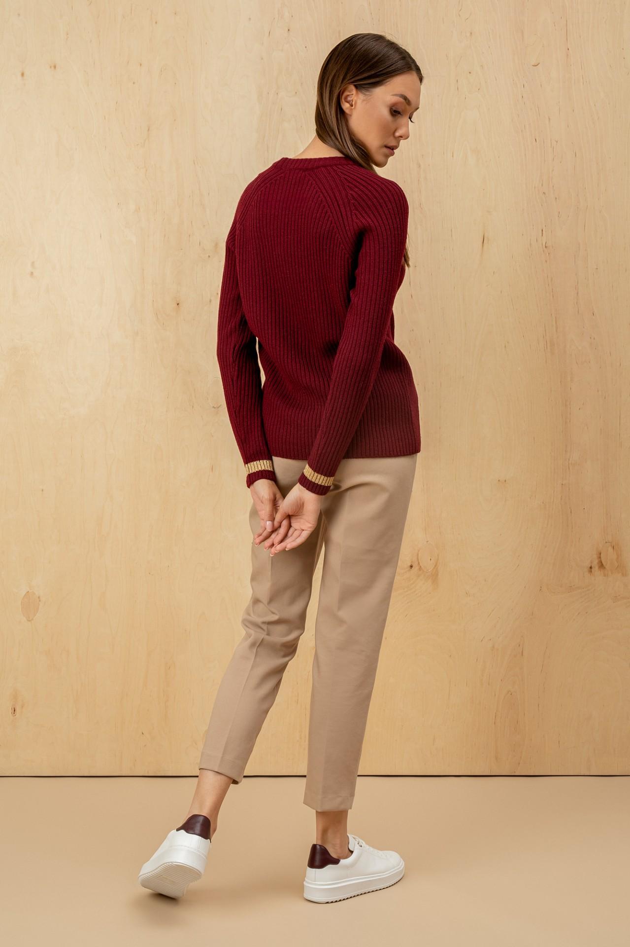 Virgin Wool Bordo
