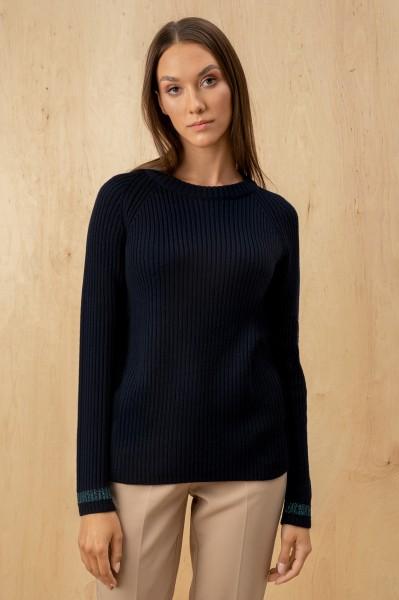 Virgin Wool Dark Blue