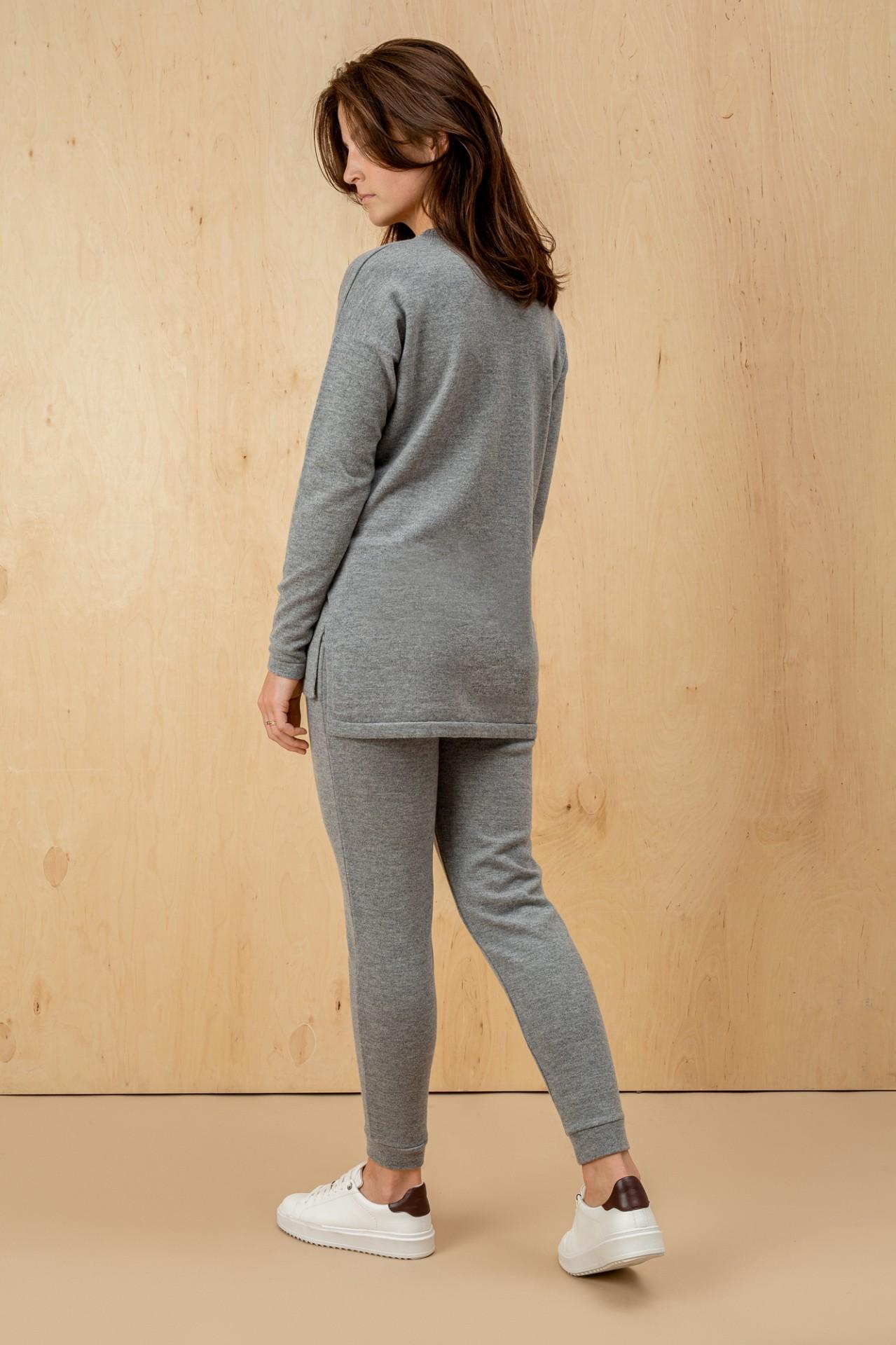 Wool Suit Grey