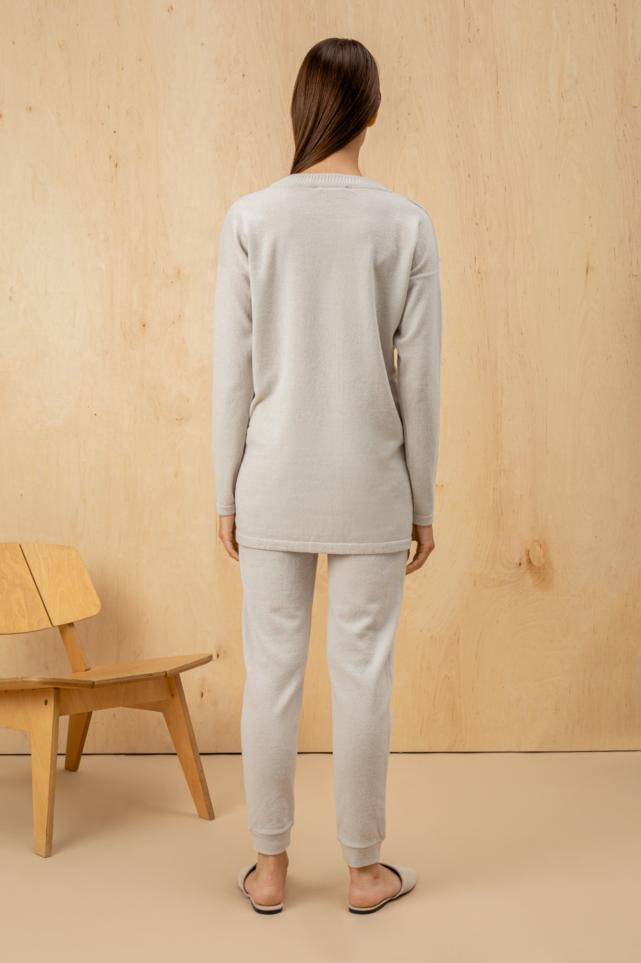 Wool Suit White
