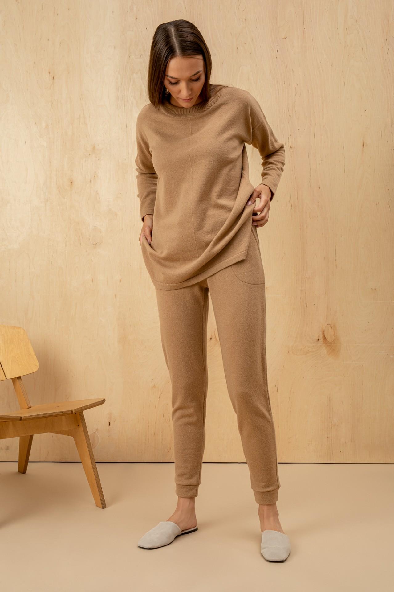 Wool Suit Camel